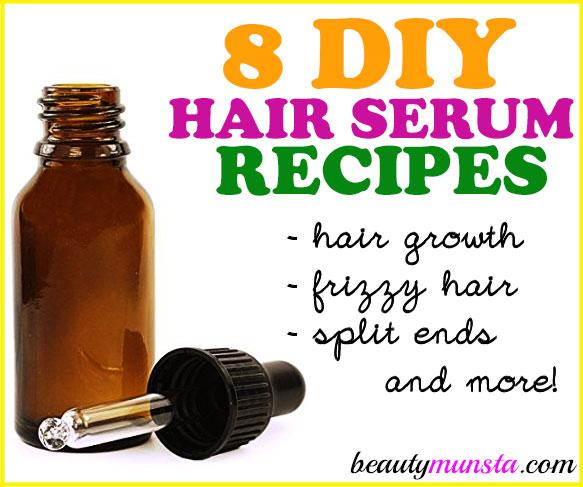 8 Best DIY Hair Serum Recipes For All Hair Types More