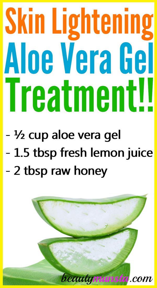 Aloe Vera Gel For Skin Lightening Beautymunsta Free