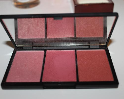 Sleek blush trio