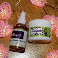 Waxperts Wonder Pads and Beautiful Body Oil