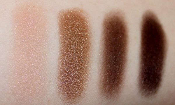 Narsissist Dual Intensity Swatches dry