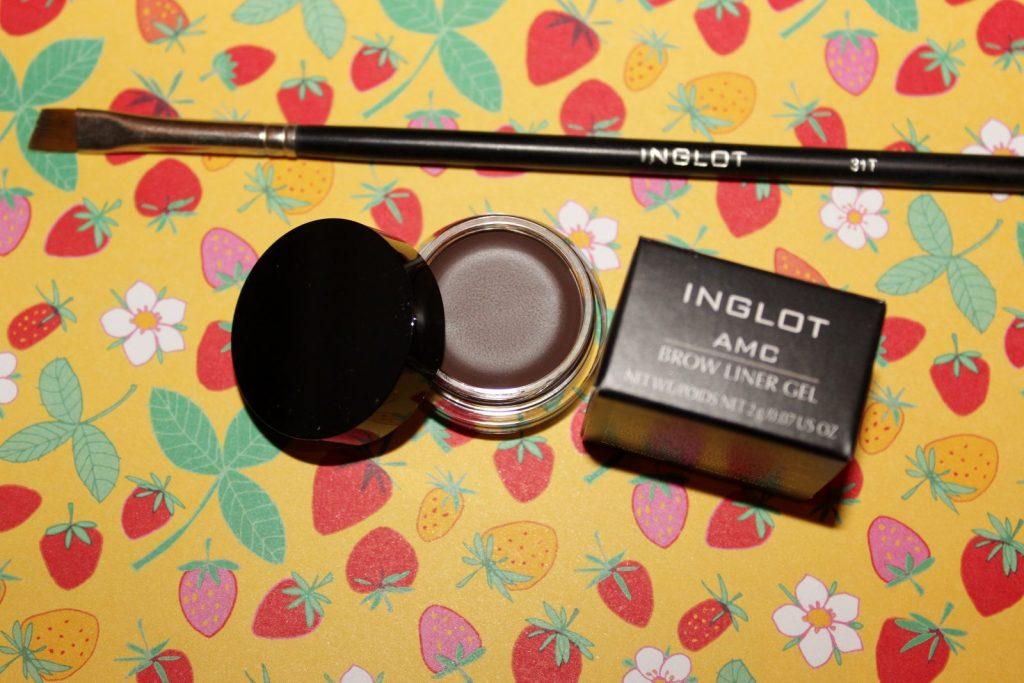 Inglot Gel Brow Liner Review