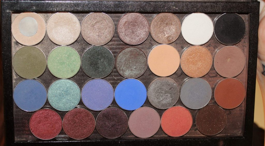 Make Geek Eyeshadows