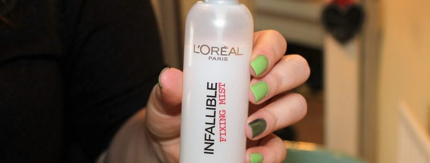 loreal infallible fixing mist