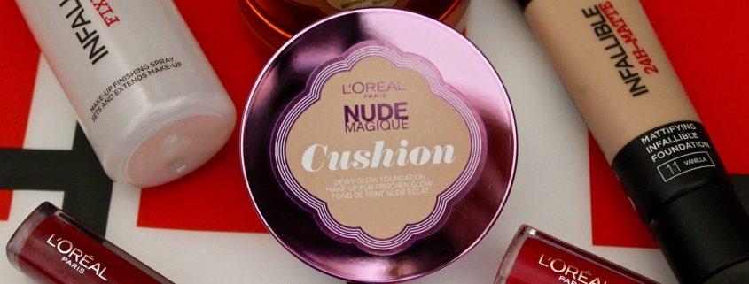 L'Oreal Nude Magique Cushion Foundation