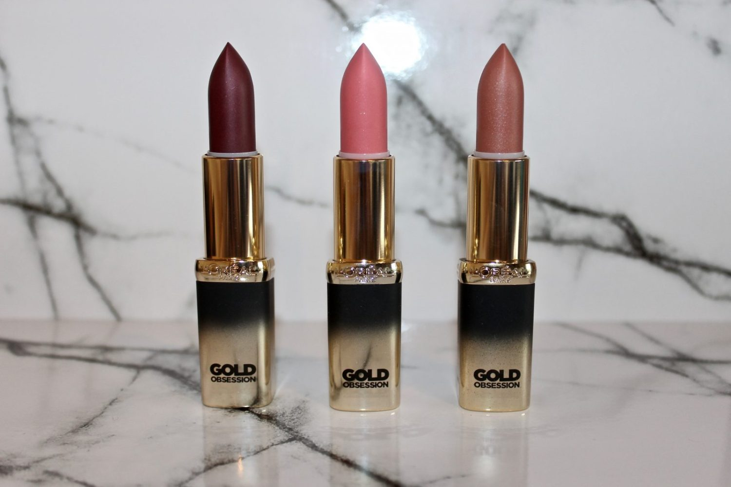 Loreal color riche gold obsession lipstick