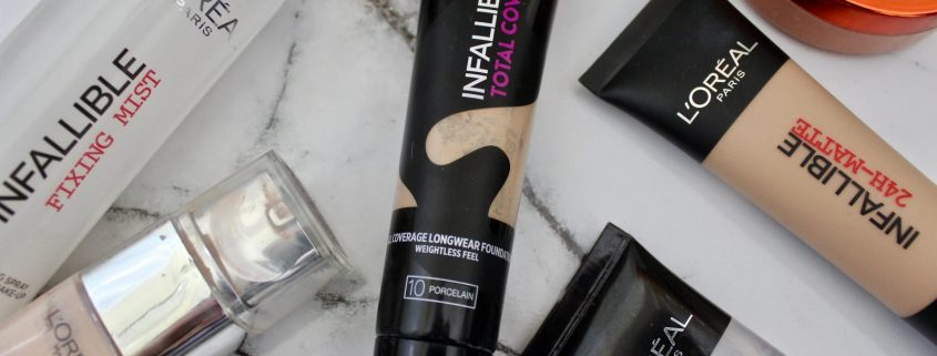 L'Oréal Infallible Total Cover Foundation