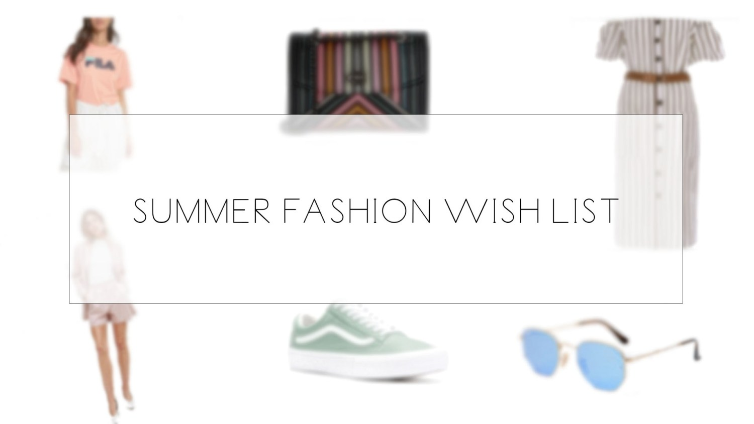summer fashion shopping