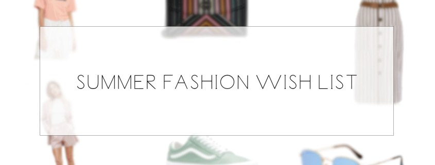summer fashion shopping