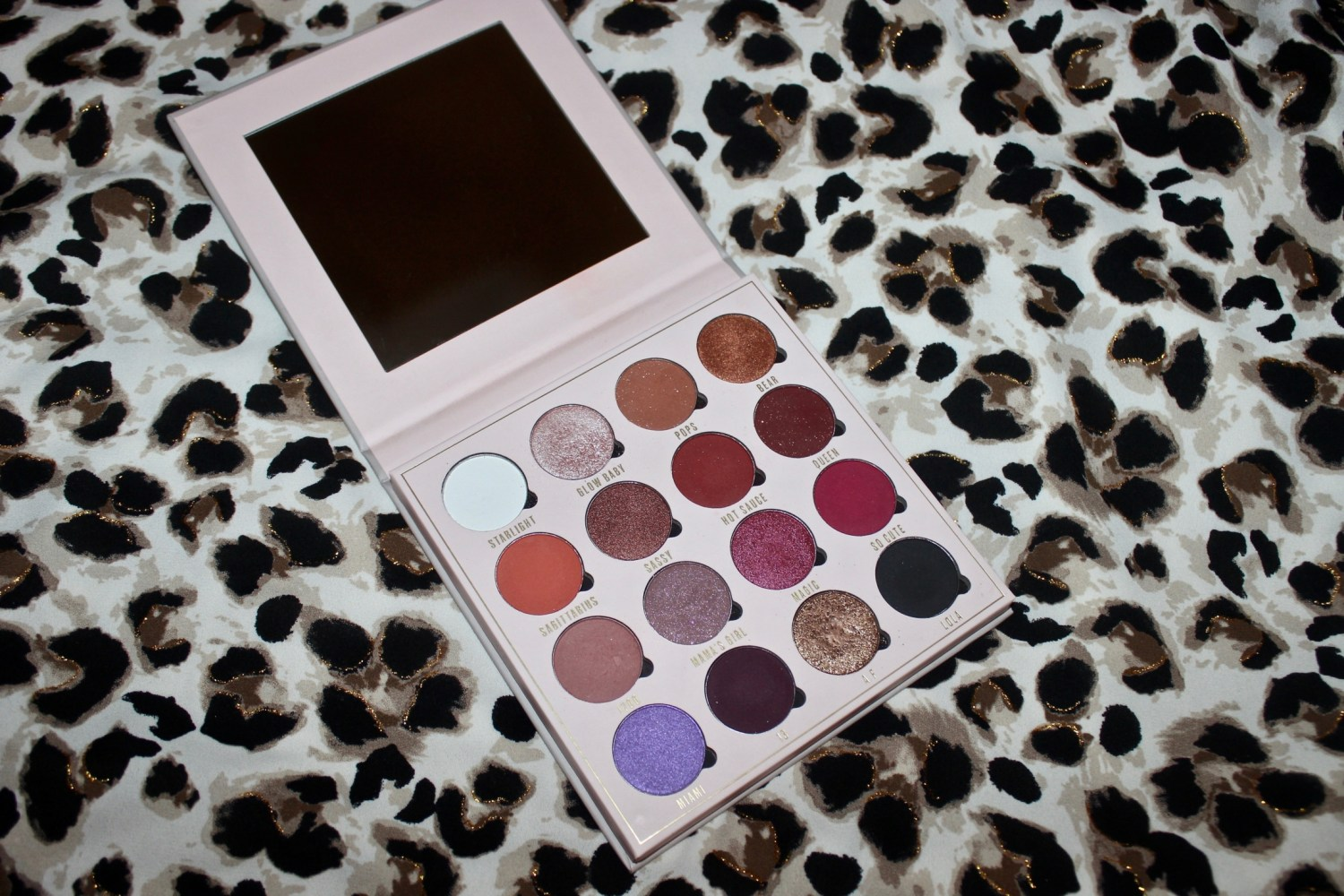 Obsession X Belle Jorden Eyeshadow Palette