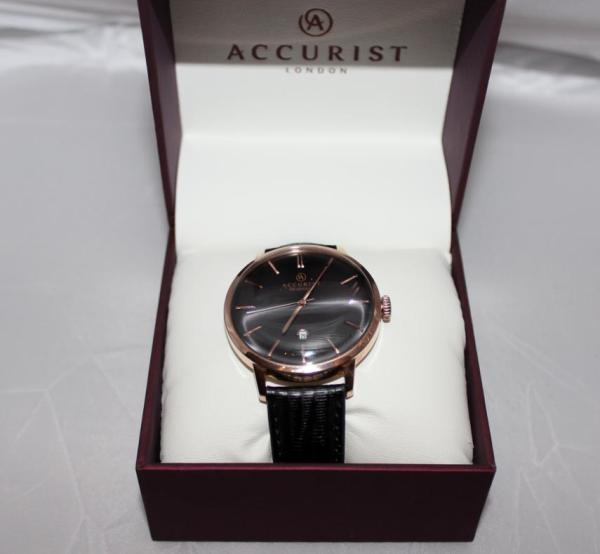 Accurist Rose Gold Watch