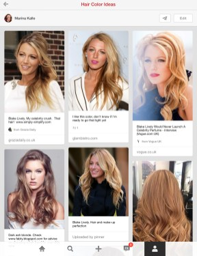 Hair Color Board