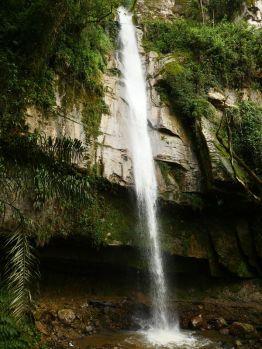 yumbilla waterfall