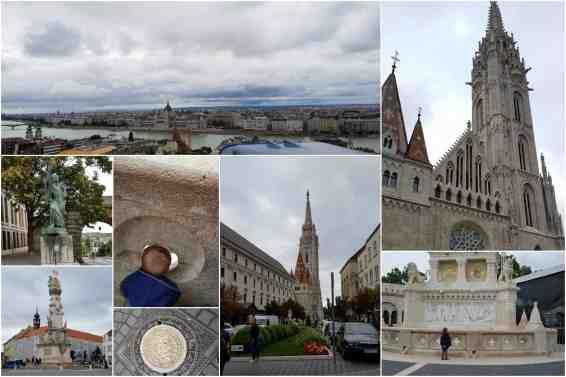 Budapest Fisherman's Bastion with Mattais Church