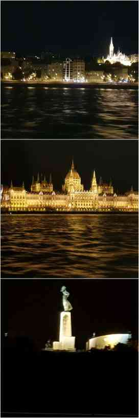 Budapest Night River Cruise with views of Lady Liberty and Hungarian Parliament Building