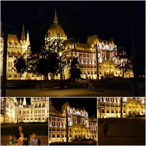 Budapest Hungarian Parliament Building