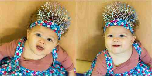 Rainbow Fish Party Crown