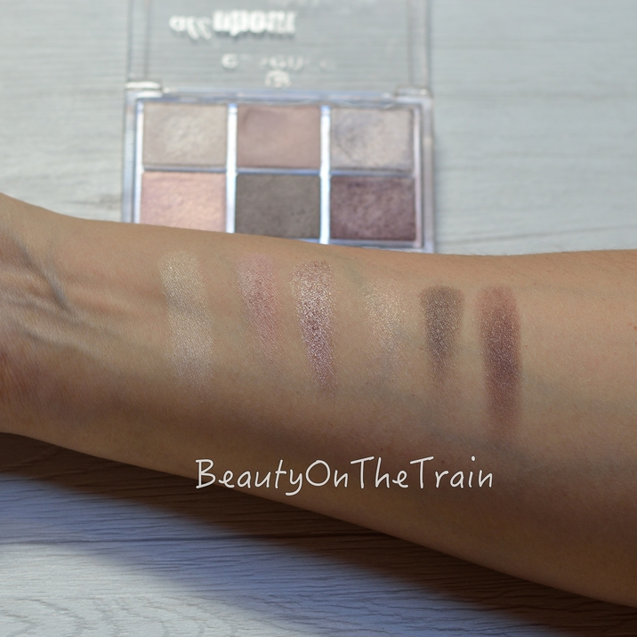 Swatch essence all about nudes