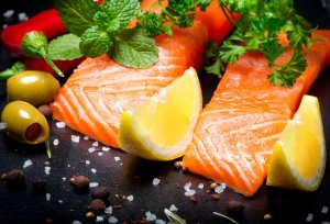Salmon super-food