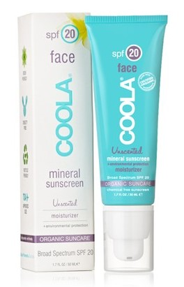 Judicial Review: COOLA Face SPF20 Mineral Sunscreen (1/2)