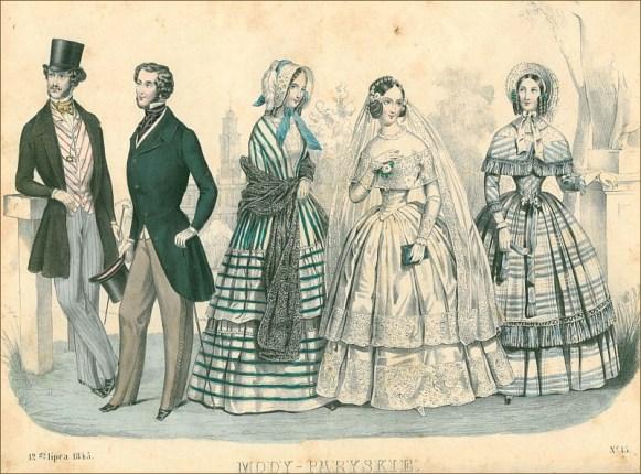 moda dawniej