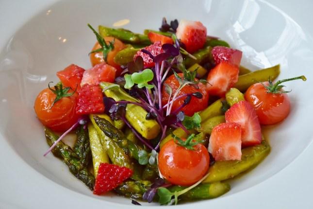 letnie warzywa i owoce