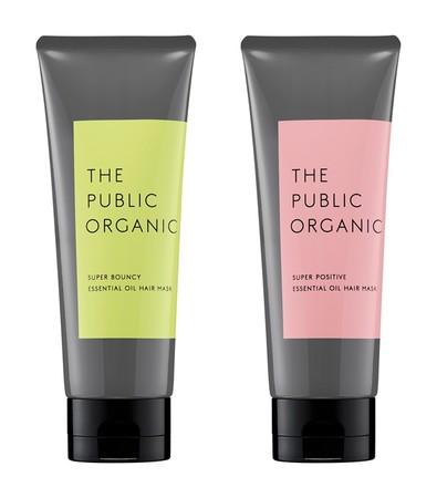 ザ パブリック オーガニックから100%精油調香で気分も変わる、リッチなヘアマスクが誕生