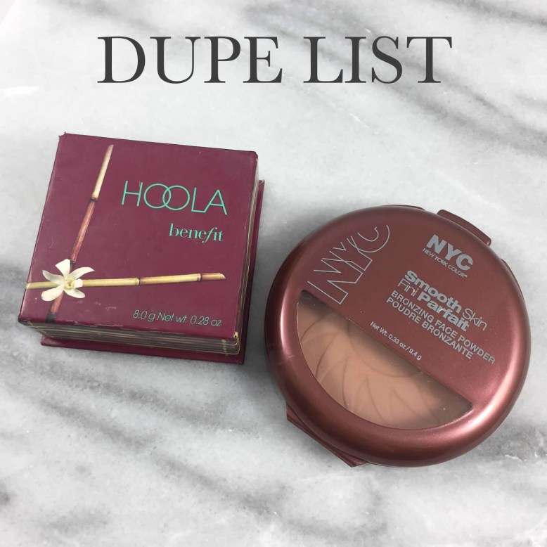 DUPE LIST: BPAMC Drugstore Dupes