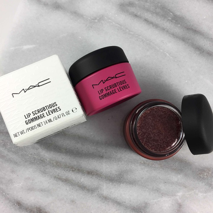 MAC Lip Scrub Review