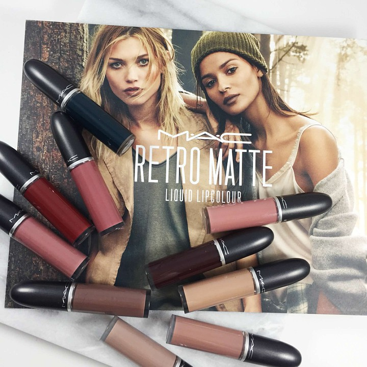 MAC RETRO MATTE LIQUID LIPCOLOUR: SWATCHES & PRODUCT INFO