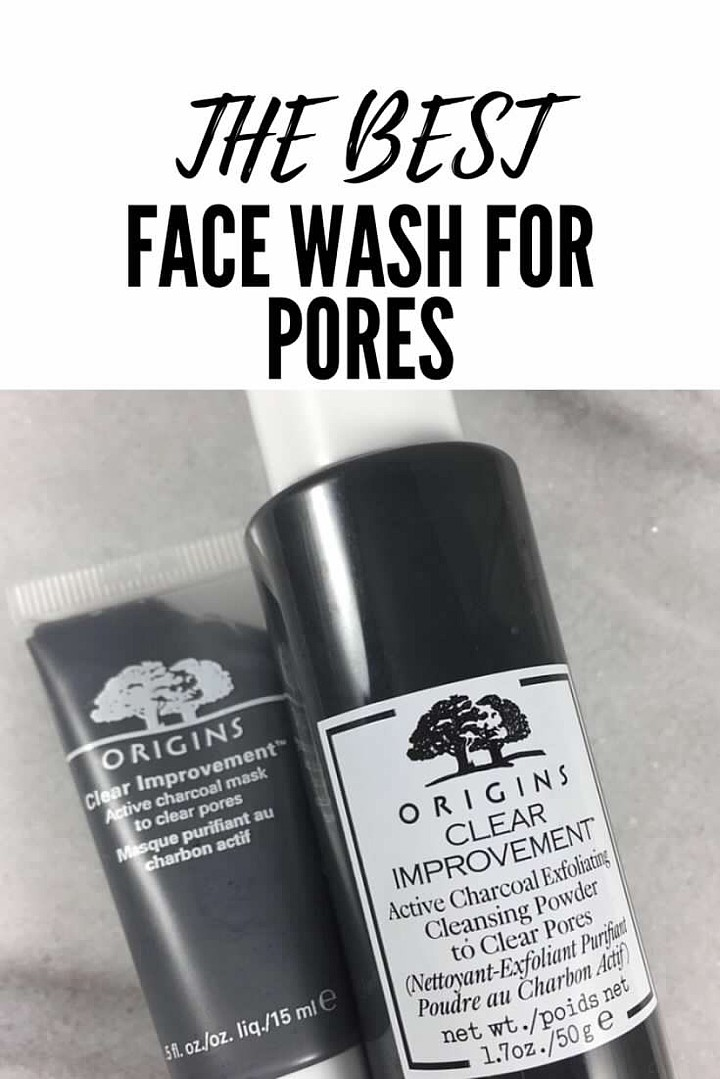 NEW Origins Face Wash: Active Charcoal To Clear Pores