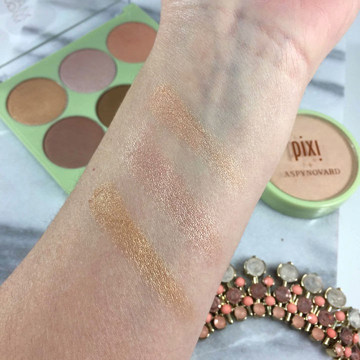 Pixi Strobe and Bronze Palette