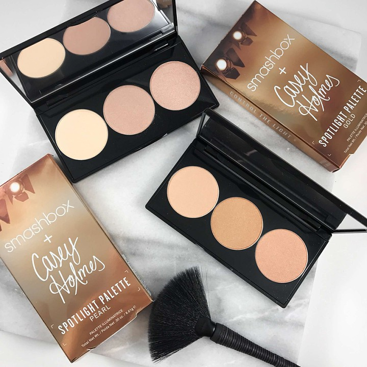 Smashbox Cosmetics X Casey Holmes Spotlight Palette: Swatches & Product Info