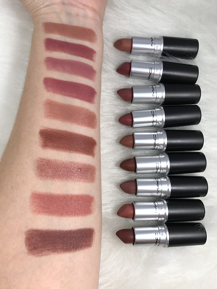 Magnifiek MAC NUDE LIPSTICK II: Swatches & Product Info - Beauty Products &LB93