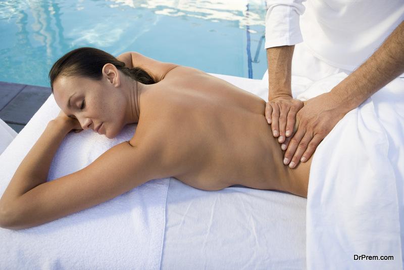 Get a body massage