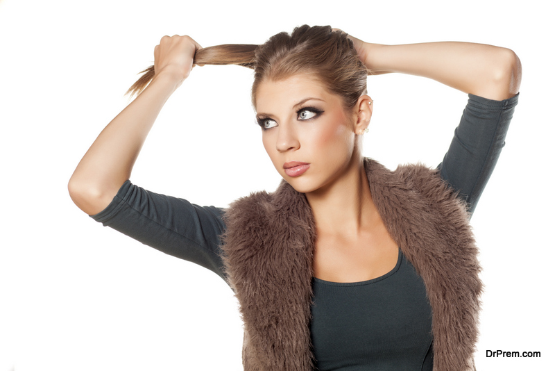 make your ponytail look stylish