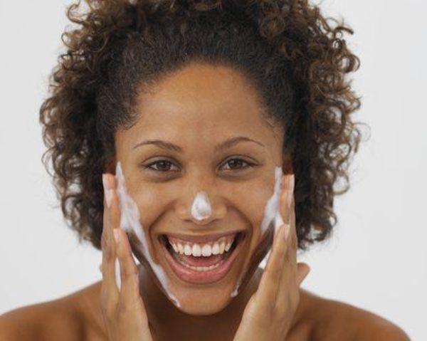 Black skin beauty regime