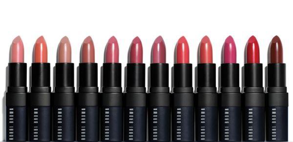Bobbi Brown lipsticks