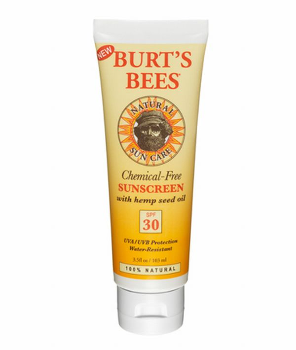 Burt's Bees SPF 15 Chemical Free Sunscreen