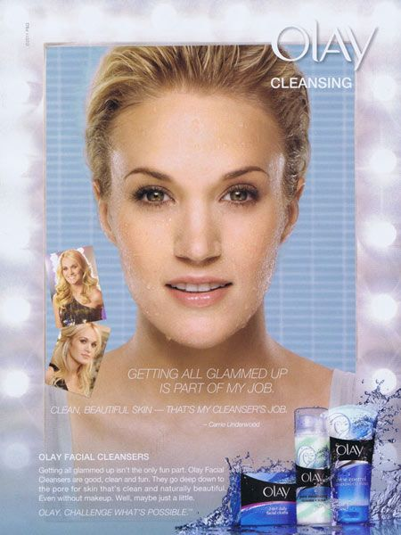Carrie Underwood for Olay