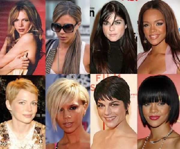Celeb inspired hairstyles