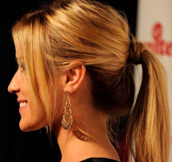 Organic ponytail