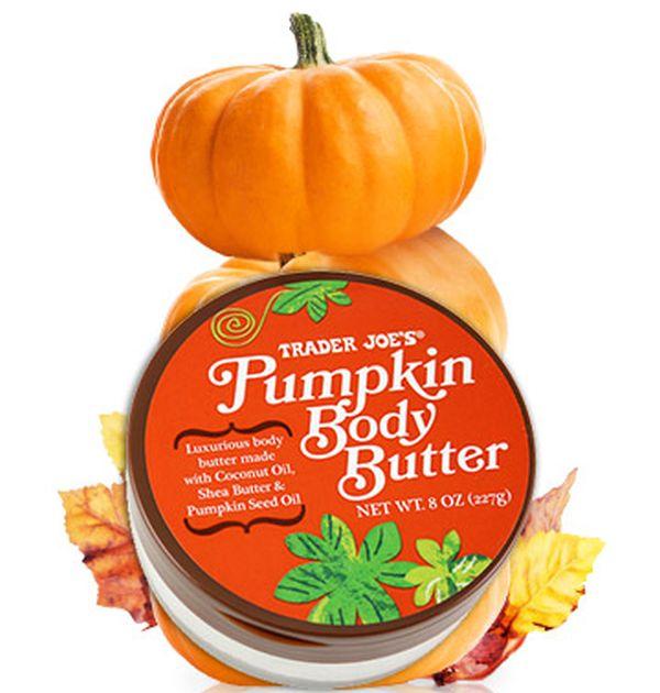 trader-joes-pumpkin-body-butter Pumpkin beauty product