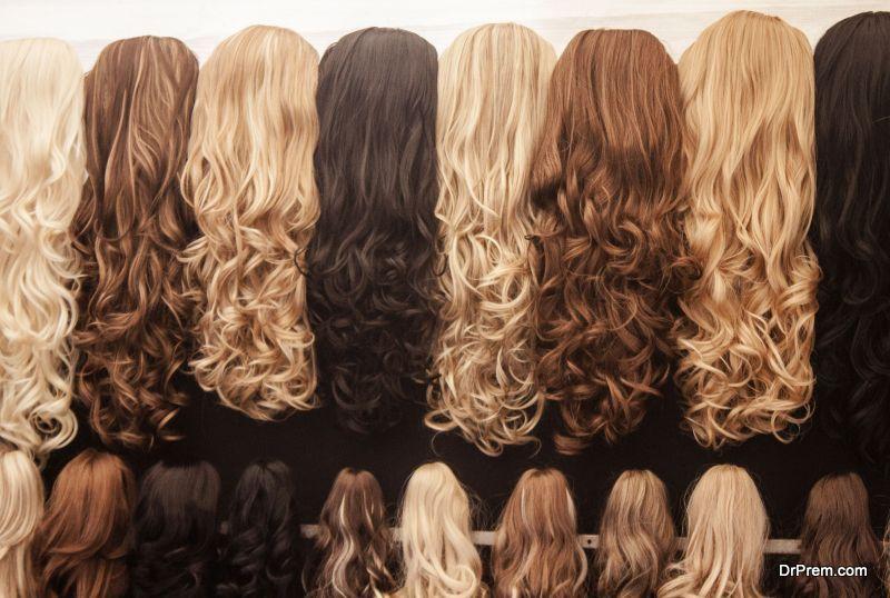 human hair wig care