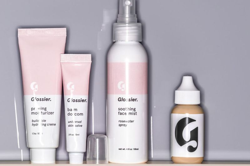 Glossier beauty and skincare product