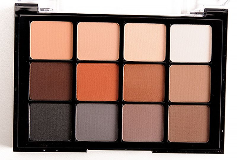 Eyeshadow palette in neutral matte by Viceart