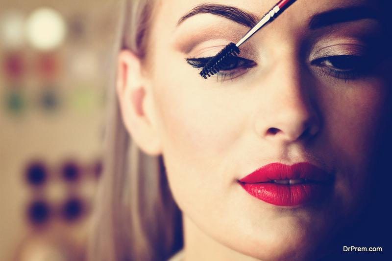 Use less makeup