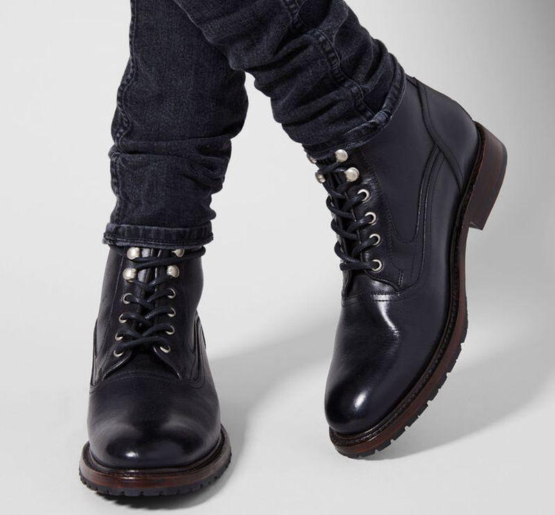 men's leather dress boots