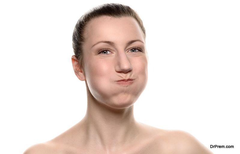 Mouthwash-technique