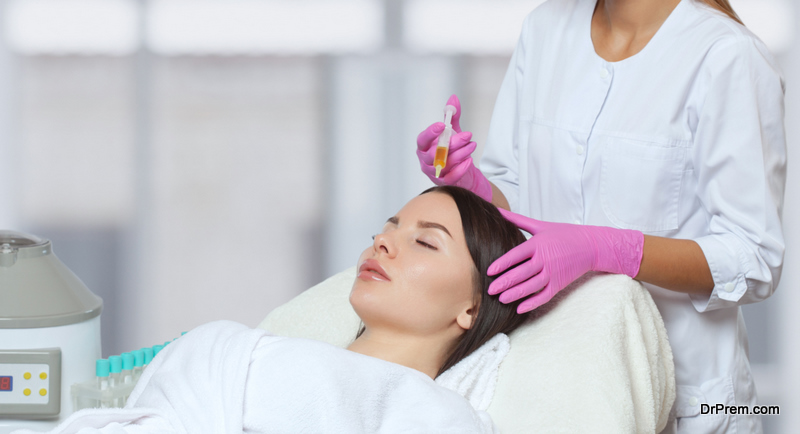 PRP stands for Platelet-rich Plasma therapy